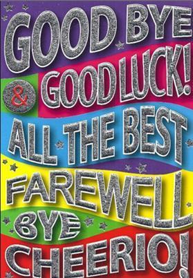 Goodbye&Goodluck